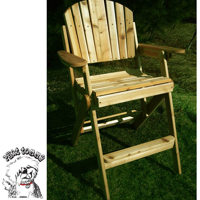 Phat Tommy Folding Cedar Game Day Chair