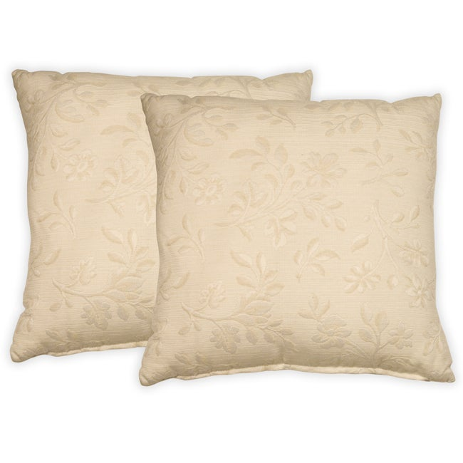 Knightsbridge Embroidered Decorative Pillows (Set of 2)