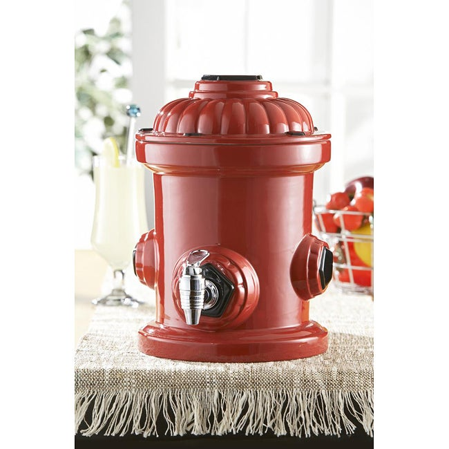 American Atelier Retro Fire Hydrant Beverage Dispenser