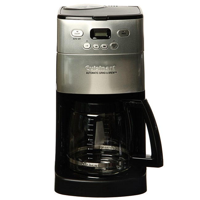 Cuisinart DCC-1250SAFR Grind and Brew 12-cup Coffee Maker (Refurbished) - Free Shipping Today ...