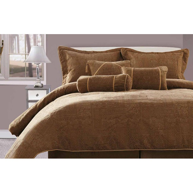 Arabella Queen-size 7-piece Comforter Set