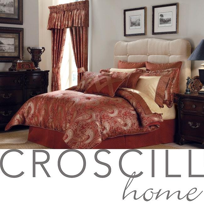 Croscill Scarlet King-size 4-piece Comforter Set