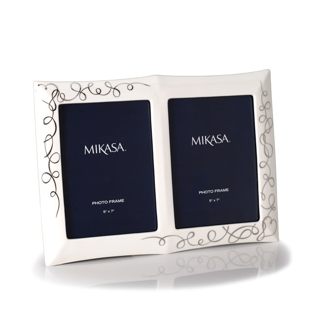 Shop Mikasa Love Story Double Invitation Picture Frame Free