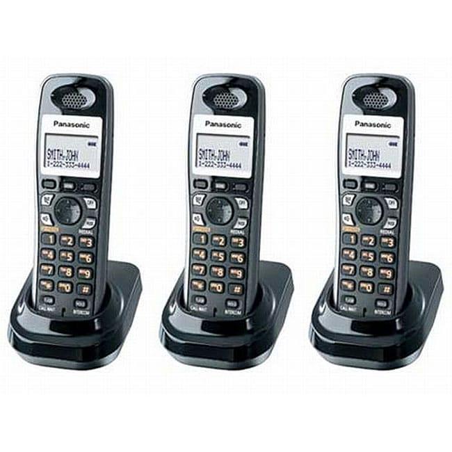 Panasonic KX-TGA930T DECT 6.0 Digital Cordless Handsets (Pack of 3)