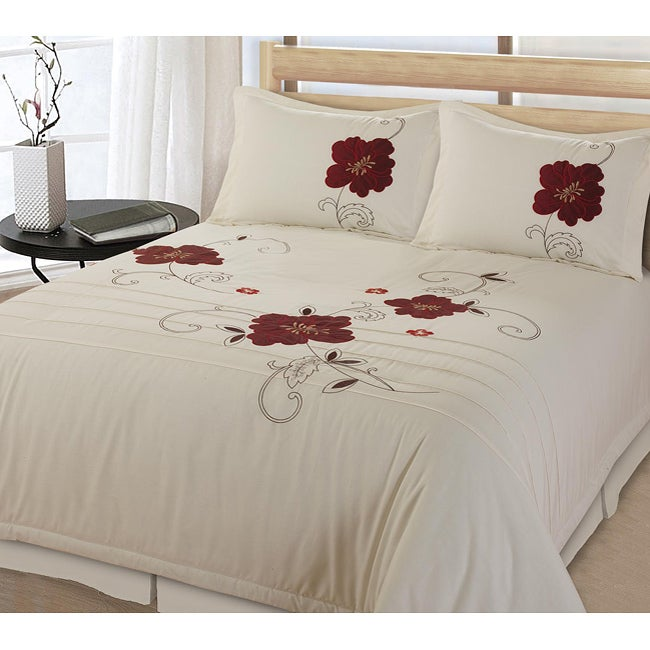 Poppy Vine 2-piece Twin-size Comforter Set