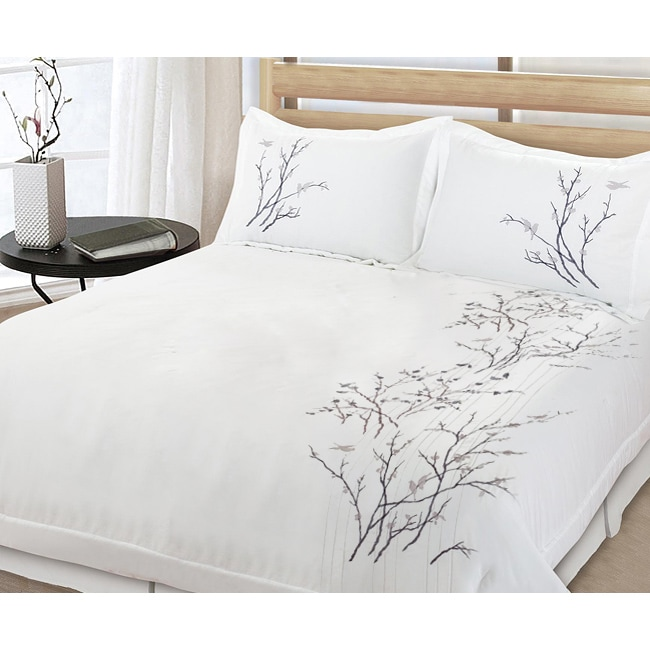 Lightning Branch 3-Piece Full/Queen-Size Comforter Set