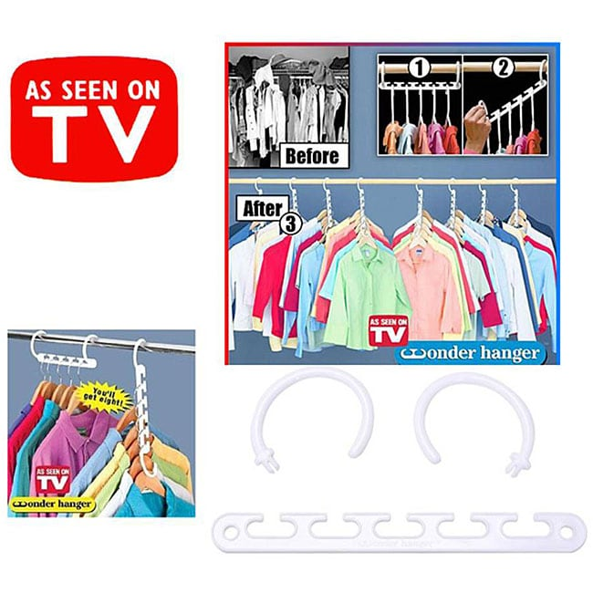 Shop As Seen On Tv Wonder Hanger Organizer Pack Of 8 Free