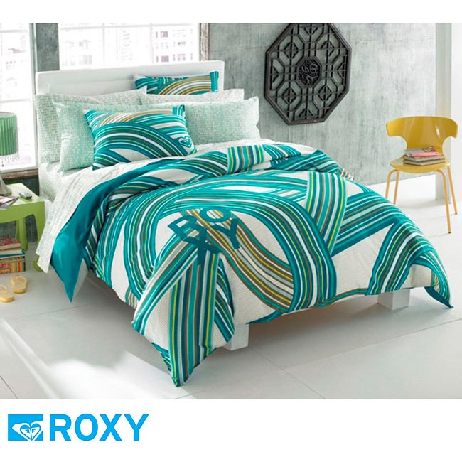 Roxy Cami Queen Size 9 Piece Bed In A Bag With Sheet Set