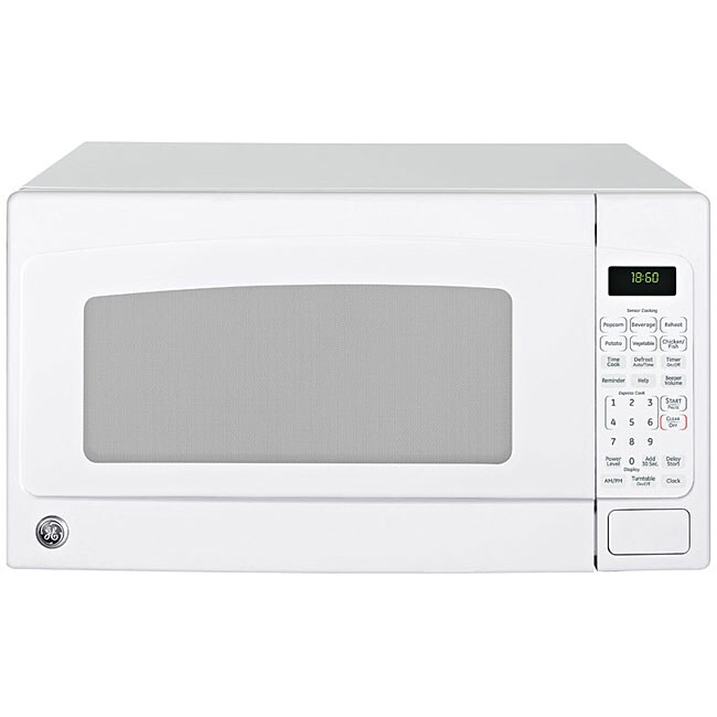 GE JEB1860DMWW 1.8-cu-ft Countertop Microwave Oven
