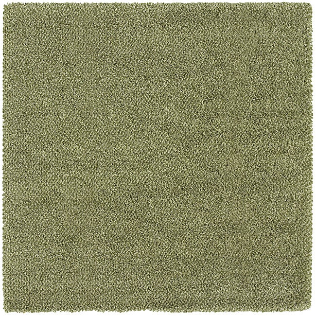 Manhattan Tweed Green/ Ivory Shag Rug