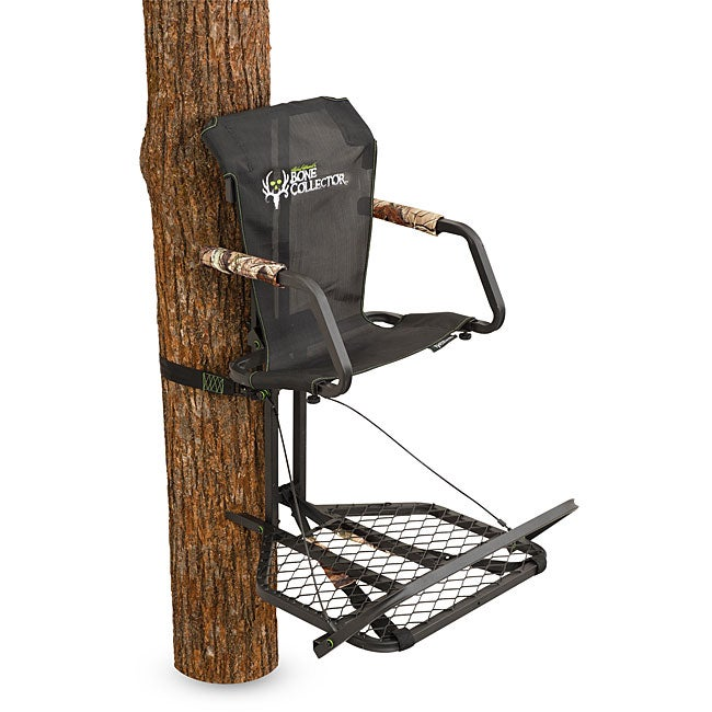 Ameristep Bone Collector Deluxe Hang On Treestand Free
