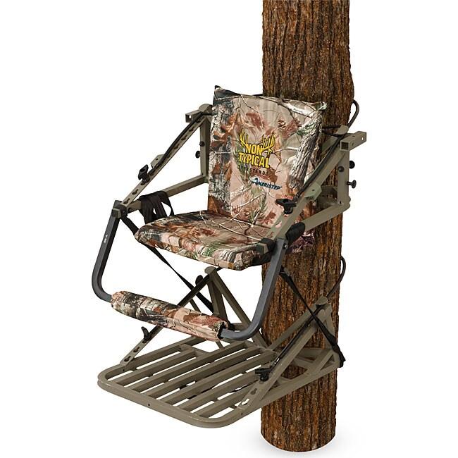 Ameristep Hitman Non Typical Aluminum Climber Free