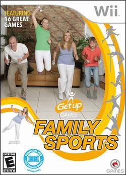 Wii - Get Up Games Family Sports (Balance Board Required)