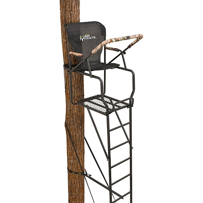 Ameristep Bone Collector 15 ft Deluxe Ladder Stand