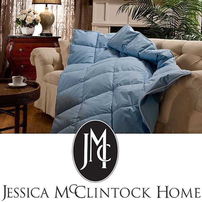Jessica McClintock 'Something Blue' Down Throw
