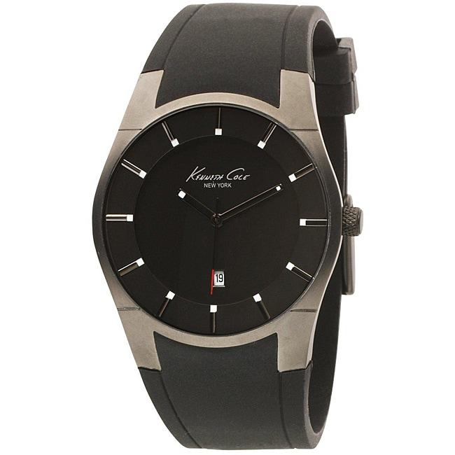 Kenneth Cole Men's Super-sleek Collection Polyurethane Strap Watch