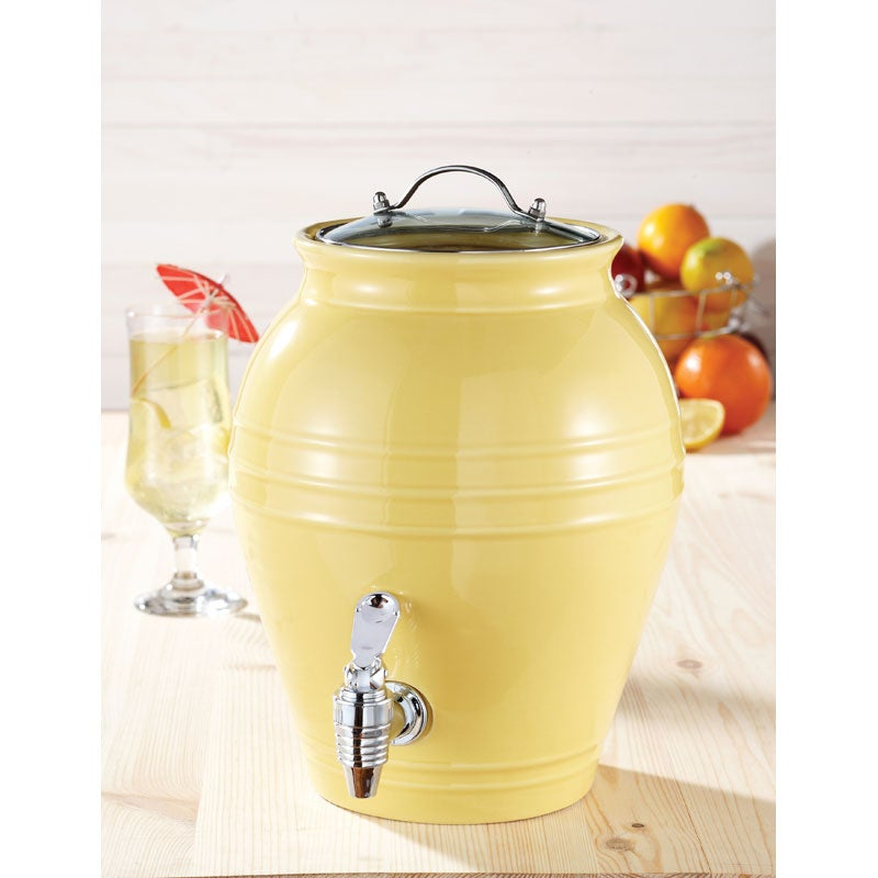 American Atelier Honey Pot Lemon Zest 203-oz Beverage Dispenser - Thumbnail 0