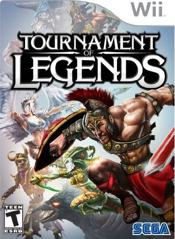 Wii - Tournament Of Legends (Pre-Played)