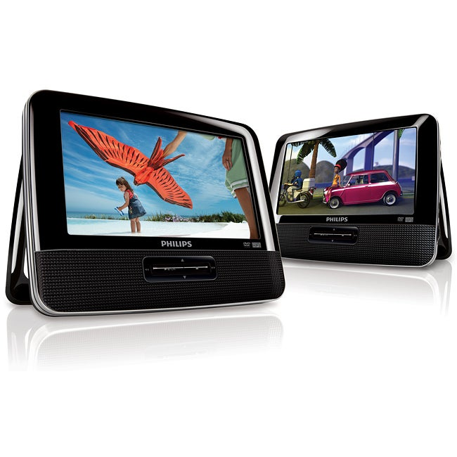 Philips PD7016 7-inch Dual Portable DVD Players (Refurbished)
