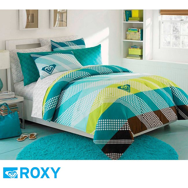 Roxy Summer Daze Full-size 9-piece Bed in a Bag with Sheet Set