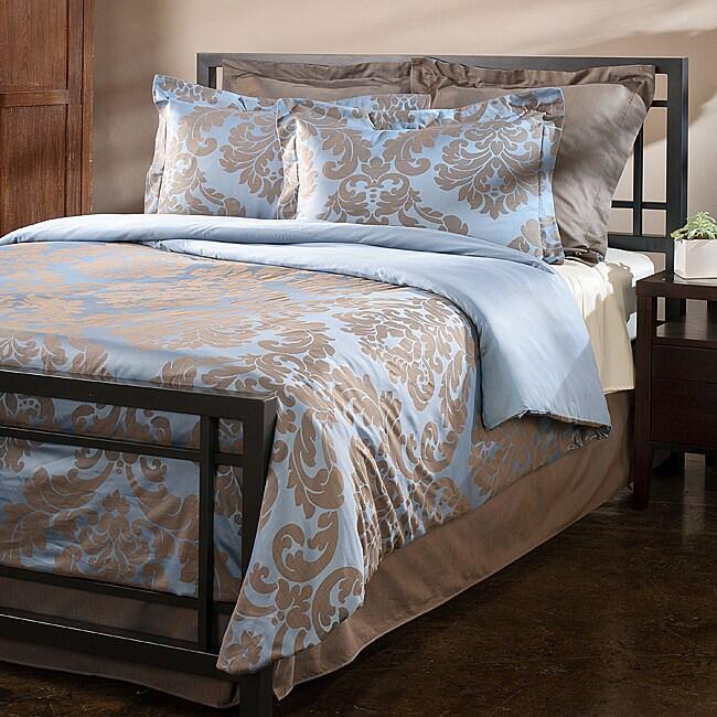 Shop Venosa Cotton King Size Duvet Cover Free Shipping Today