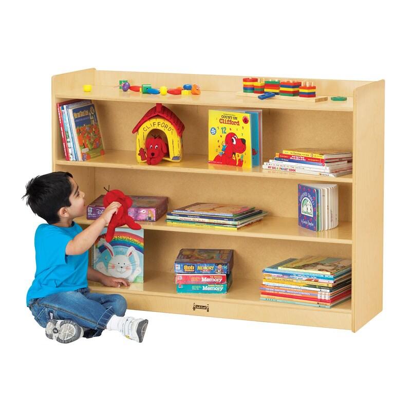 Jonti-Craft Baltic Birchwood Mobile Bookcase