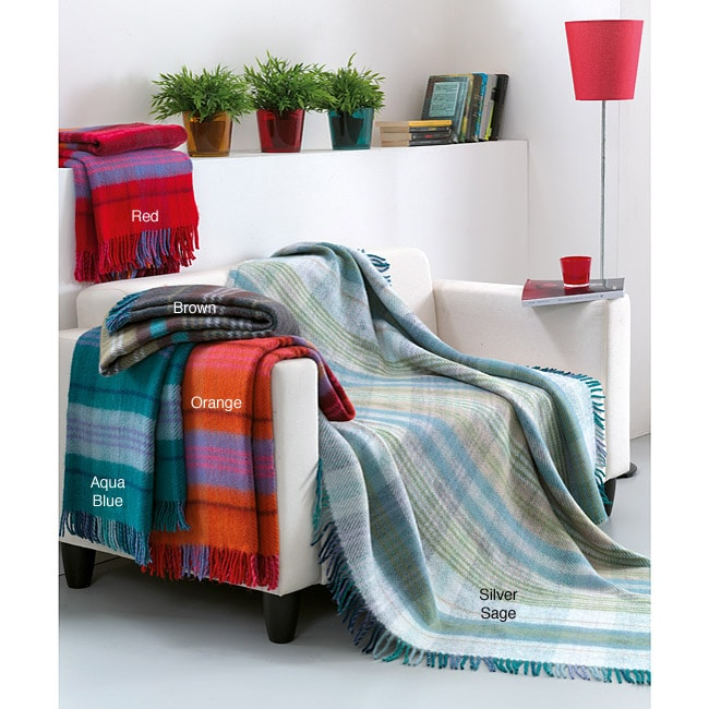 Edimburgh Plaid Throw