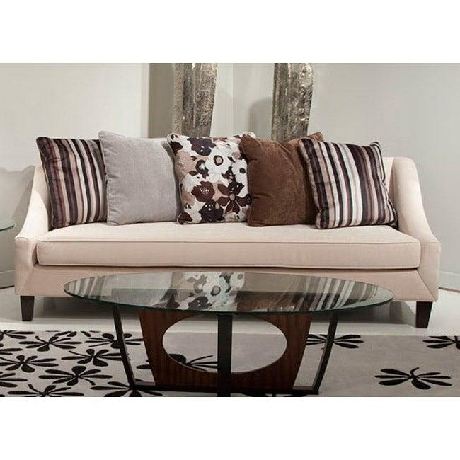 Retro Modern Fabric Sofa