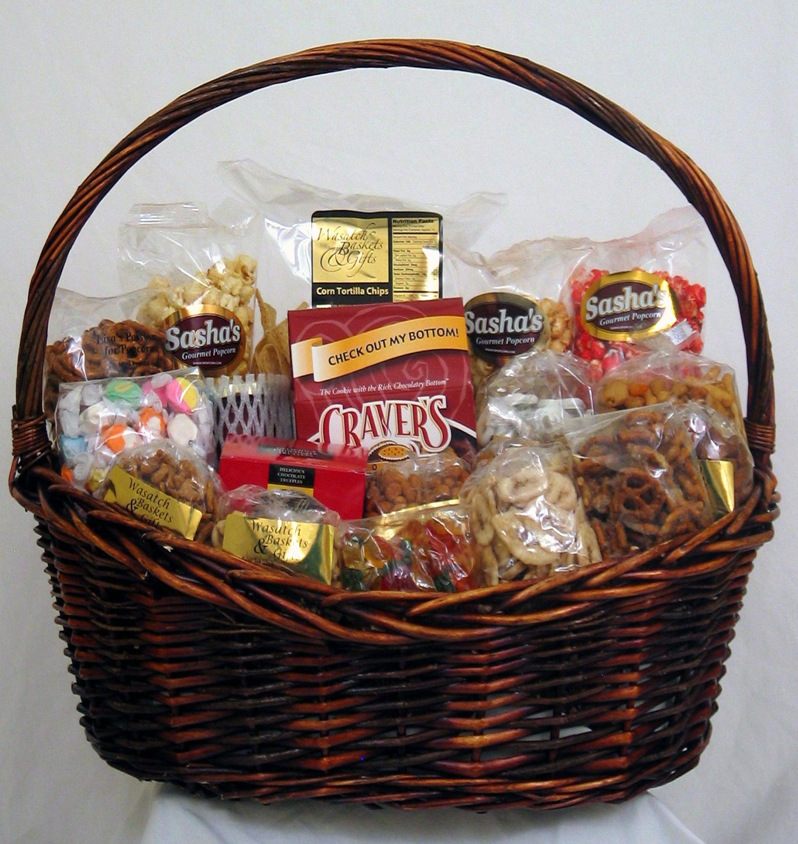 Gift Techs Mountain Feast Gift Basket