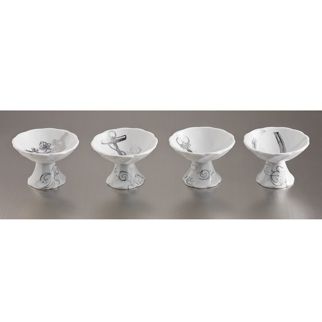 Rosanna Table Charms Dipping Dishes (Set of 4)