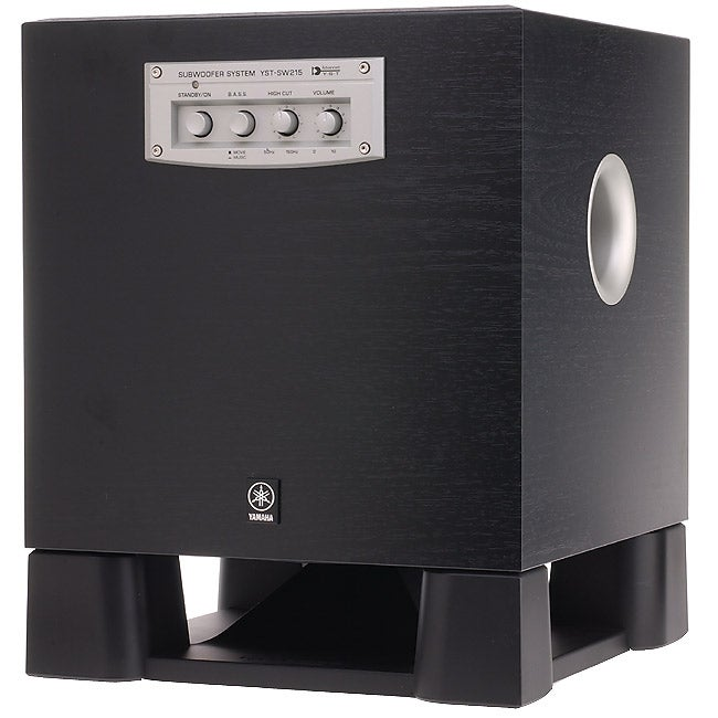 yamaha yst sw215 subwoofer system free shipping today. Black Bedroom Furniture Sets. Home Design Ideas