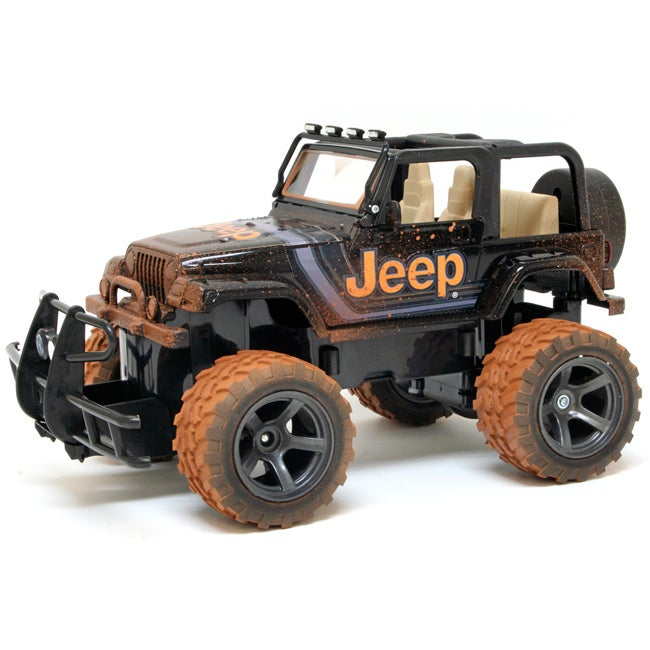 shop new bright 1 15 electric mud slinger jeep wrangler rc car free shipping today overstock. Black Bedroom Furniture Sets. Home Design Ideas