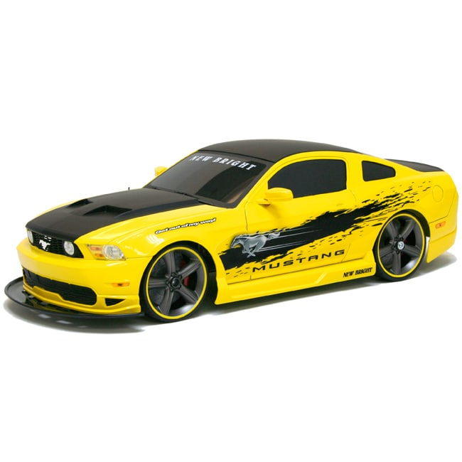 new bright 1 10 electric ford mustang gt rc car free. Black Bedroom Furniture Sets. Home Design Ideas