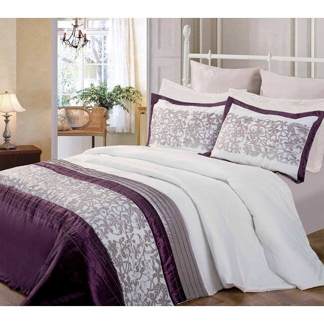 Bayberry 3-piece Queen-size Comforter Set - Thumbnail 0