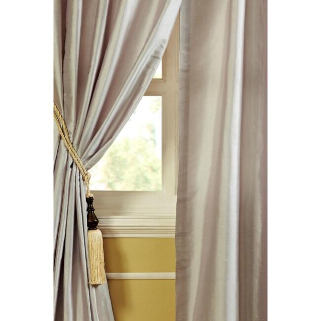 Ellie Dupioni Silk 84-inch Curtain Panel