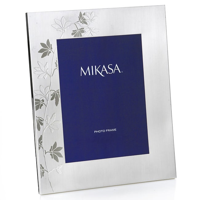 mikasa modern floral   picture frame