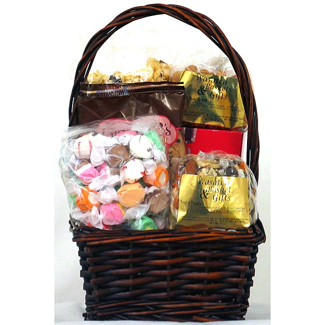 Gift Techs Mountain's Best Willow Keepsake Gift Basket