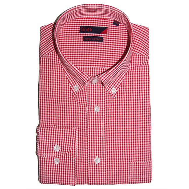 Brio Men's Fashion Dress Shirt