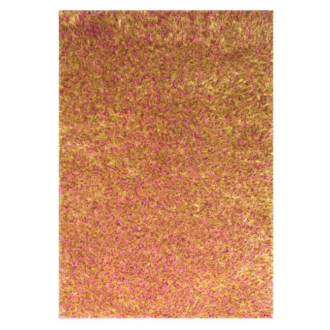 Hand-woven Modern Orange Rug (5' x 8')