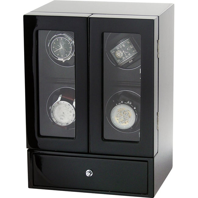 Kreisler Lifestyle Quad Watch Winder Tower - Thumbnail 0