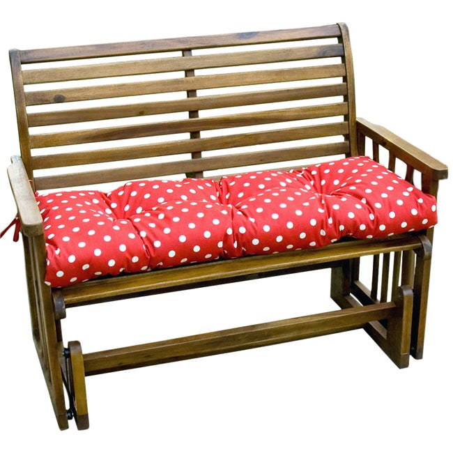 Red Dot Outdoor Bench Cushion Free Shipping On Orders