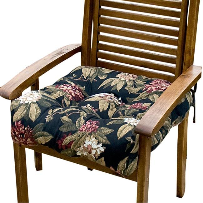 Outdoor Moon Flower 20-inch Chair Cushion