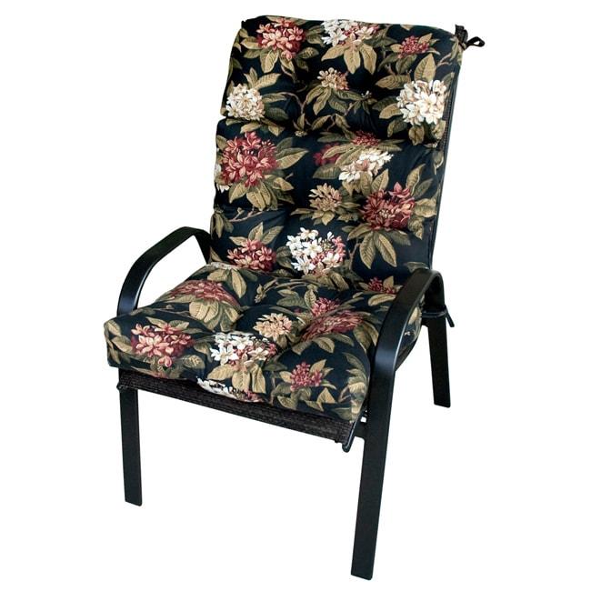 Patio High-back Moonflower Chair Cushion