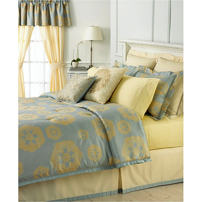 Shop Martha Stewart Collection Water Garden 40piece Room In A Bag Best Martha Stewart Collection Bedding Dogs Decorative Pillows