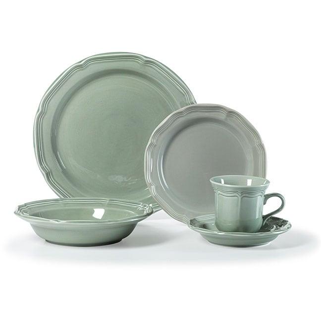 mikasa french countryside sage 5piece dinnerware set