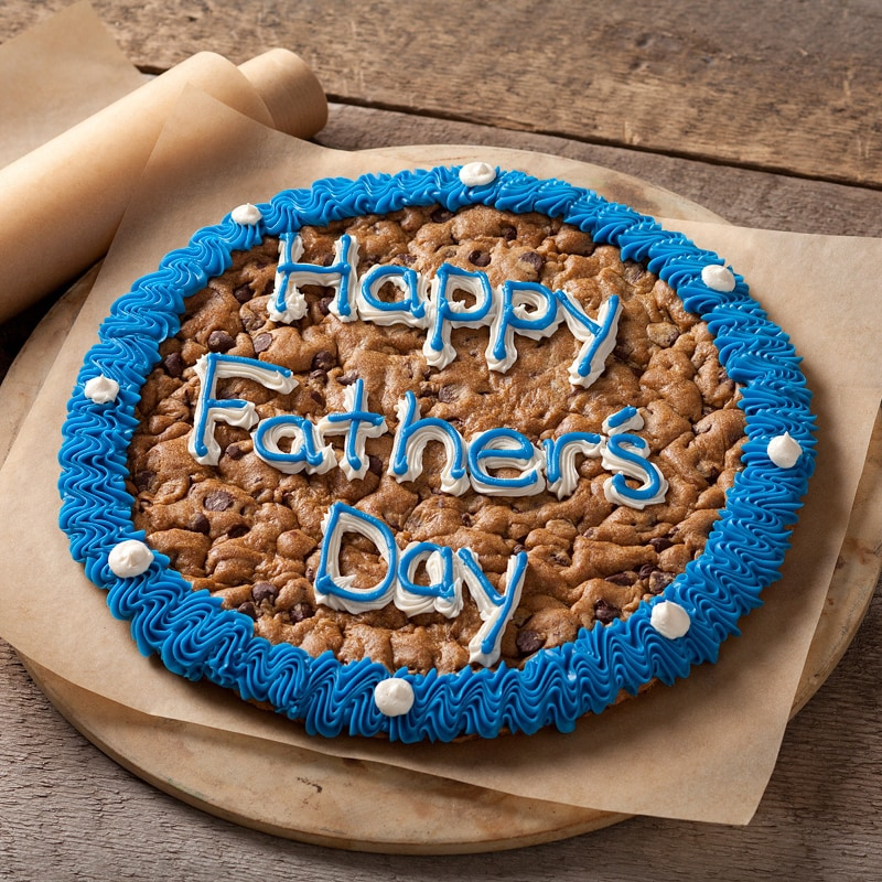 Mrs. Fields Happy Father's Day Cookie Cake