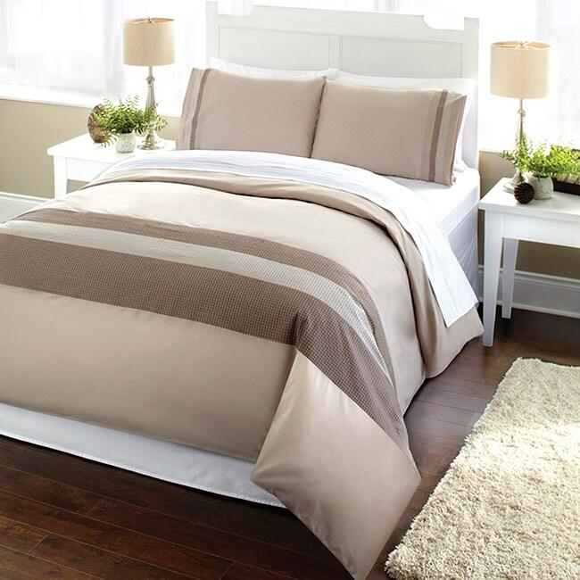 Sammy Queen-size 3-piece Duvet Cover Set