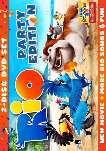 Rio 2-Disc Party Edition (DVD)