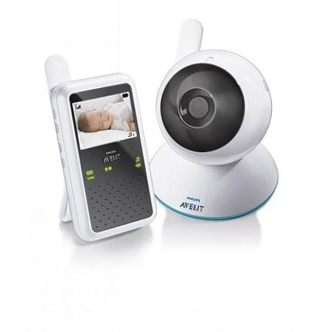 philips avent digital video baby monitor free shipping today 13711874. Black Bedroom Furniture Sets. Home Design Ideas