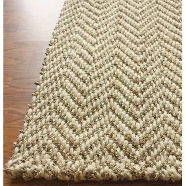 nuLOOM Handmade Restoration Living Wool and Jute Rug (4' x 6')